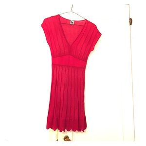 Pink knit M MISSONI dress